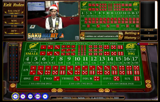Panduan SicBo Online | Live Casino | Android | Iphone