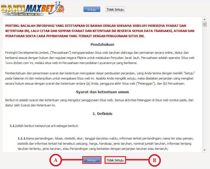 Panduan Cara Login Dan Mengganti Password Maxbet